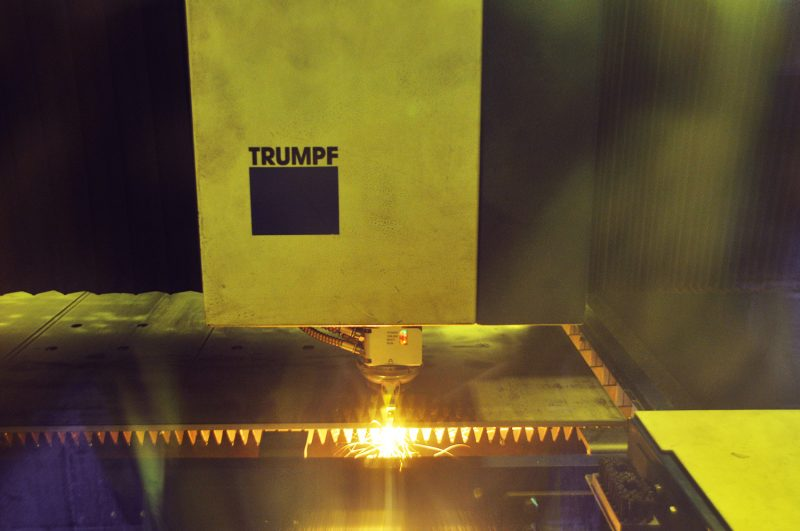 We use Trumpf Fibre Lasers