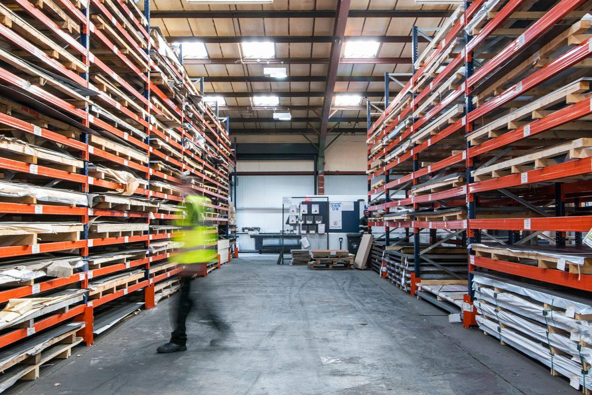 Materials held in stock