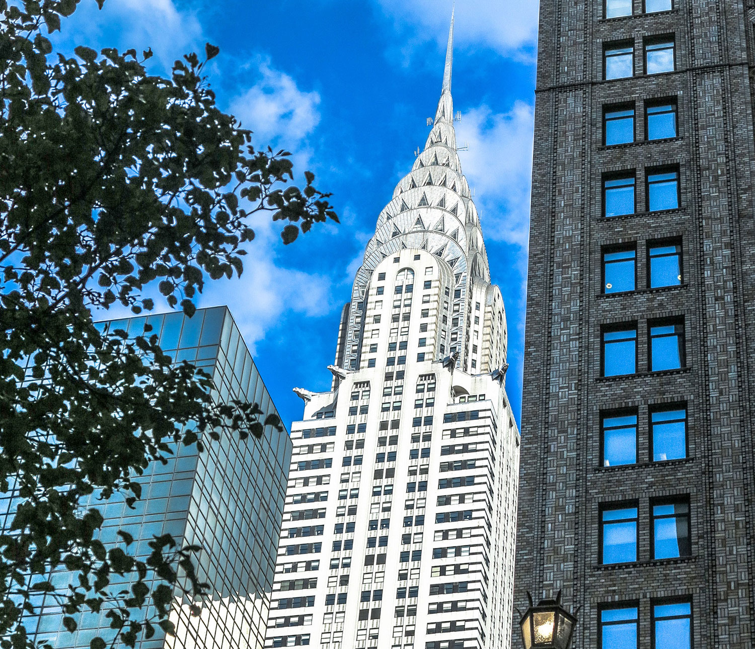 the Chrysler Building was the World's Tallest Building for less than a year